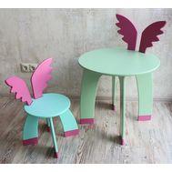 Стул и стол Крылья, фото 1