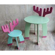 Стул и стол Лосенок, фото 1