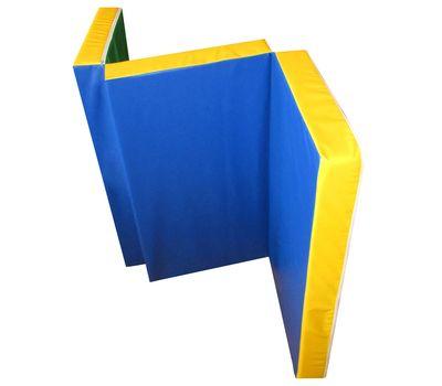 Мат гимнастический складной 1,5х1,0х0,1 м, фото 1
