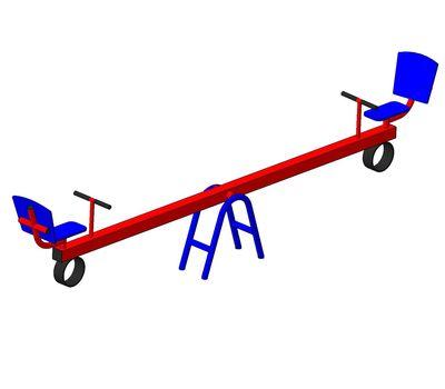 Качели-балансир, фото 1
