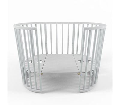 Овальная кроватка из массива бука Dreams Стандарт 8-в-1, фото 12