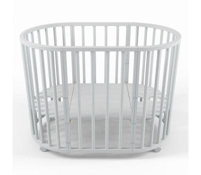 Овальная кроватка из массива бука Dreams Стандарт 8-в-1, фото 14