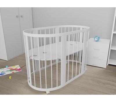 Овальная кроватка из массива бука Dreams Стандарт 8-в-1, фото 5