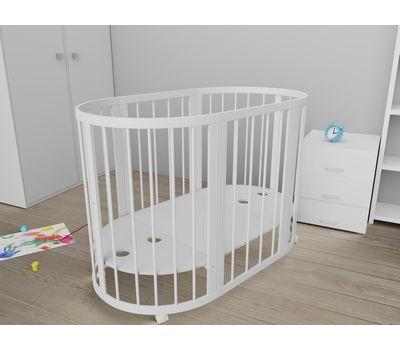 Овальная кроватка из массива бука Dreams Стандарт 8-в-1, фото 6