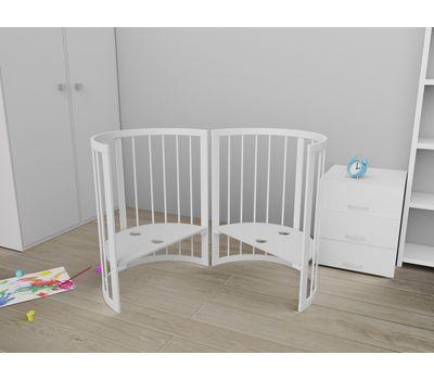 Овальная кроватка из массива бука Dreams Стандарт 8-в-1, фото 10