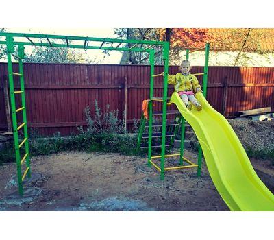 """Уличный спортивный комплекс """"Олимпик-6.3"""" с пластиковым скатом, фото 6"""